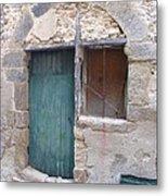Arched Stone Work Over Door Metal Print