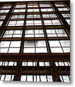 Arched Window Metal Print