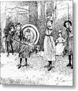 Archery, 1886 Metal Print