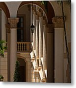 Arches And Columns At The Biltmore Hotel Metal Print