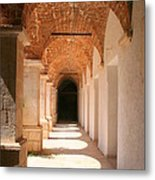 Arches And Shadows Metal Print