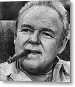 Archie Bunker Metal Print