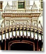Architectural Detail New Orleans Metal Print