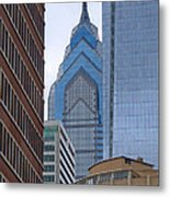 Architectural Miscellany Metal Print