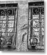 Architecture Bw I Metal Print by Chuck Kuhn