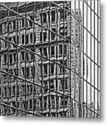 Architecture Reflections Metal Print