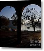 Archs And Trees Metal Print