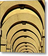 Archways In Florence Metal Print