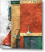 Arcitecture  Painted Effect Metal Print