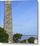 Ardmore Round Tower - Ireland Metal Print