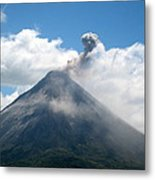 Arenal Eruption Metal Print