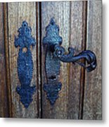 Argentinian Door Decor 1 Metal Print