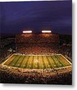 Arizona Arizona Stadium Under The Lights Metal Print by J and L Photography