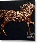 Arizona Fire Horse Metal Print