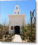 Arizona Mission Metal Print