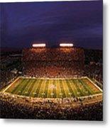 Arizona Stadium Under The Lights Metal Print by J and L Photography