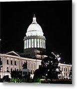 Arkansas State Capital Metal Print by Joe Finney