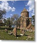 Armenian Church On Adkamar Island Metal Print