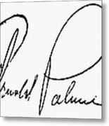 Arnold Palmer (1929-  ) Metal Print