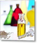Aromatherapy Oils Metal Print