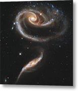 Arp 273 Interacting Galaxies Metal Print