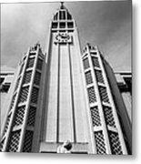 Art Deco Church Metal Print