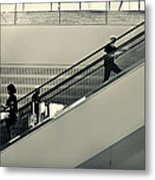 Art Escalator Metal Print