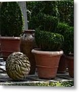 Art In The Garden Metal Print