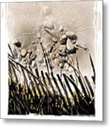 Art In The Sand Series 2 Metal Print by Bob Salo
