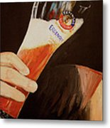 Art Of Erdinger Metal Print