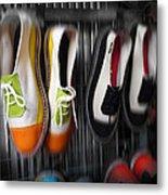 Art Shoes Metal Print