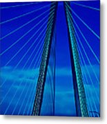 Arthur Ravenel Jr Bridge IIi Metal Print