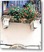 Artisan's Balcony Metal Print by Gordon Wood
