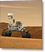 Artist Concept Of Nasas Mars Science Metal Print