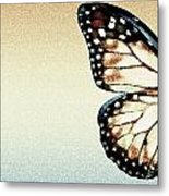 Artistic Butterfly Metal Print