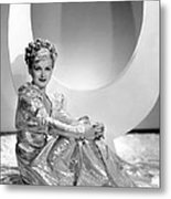 Artists And Models Abroad, Joan Bennett Metal Print