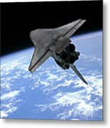 Artists Concept Of A Space Shuttle Metal Print