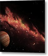Artists Concept Of An H II Region Metal Print