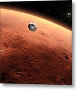 Artists Concept Of Nasas Mars Science Metal Print