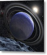 Artists Illustration Of An Extrasolar Metal Print
