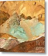Artists Palette Death Valley Metal Print