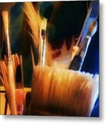 Artists Tools Metal Print