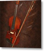 Artist's Violin Metal Print