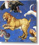 Artwork In Villa Farnese, Italy Metal Print by Photo Researchers