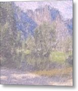 As If Monet Painted Yosemite Metal Print