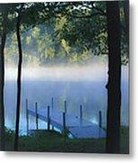 As The Lake Awakens Metal Print