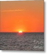 As The Sun Goes Down Metal Print