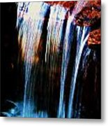 As The Water Falls Metal Print by Hannah Miller