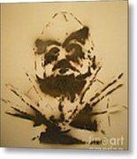 Asaro Mudman Metal Print