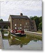 Ashby Canal At Moira Furnace Metal Print
